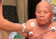 Paciente de corazón Foto de archivo libre de regalías