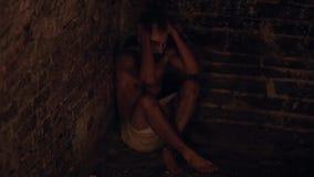 Paciente do praga na prisão vídeos de arquivo