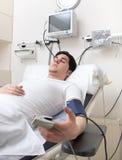 Paciente masculino fotos de archivo libres de regalías