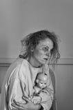 Paciente mental Fotos de archivo libres de regalías