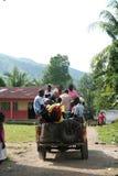 Pacientes listos para el viaje al hospital Foto de archivo libre de regalías