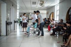 Pacientes que esperan el tratamiento Imagen de archivo