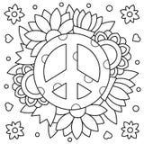 pacific Страница расцветки также вектор иллюстрации притяжки corel бесплатная иллюстрация