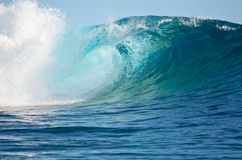 Pacific big wave stock photo