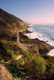 Pacific Blues at the Big Sur, California Stock Image