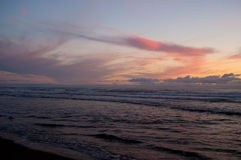 Pacific City Sunset Royalty Free Stock Image