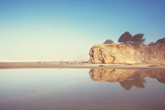 Pacific coast Royalty Free Stock Images