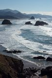 Pacific Coast. At Canon Beach, Oregon Royalty Free Stock Photography