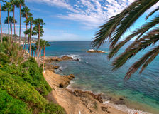 Pacific Coast. Summer Day on the Pacific Coast in California royalty free stock photos