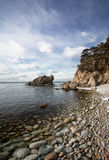 Pacific coast 5. Near Vladivostok, Russia, Far-East. Autumn royalty free stock photo