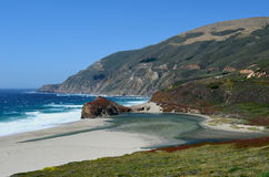 Pacific Coast, Big Sur, California, USA Stock Images