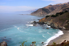 Pacific coast - California. Rugged California Coast - Pacific Ocean Royalty Free Stock Images