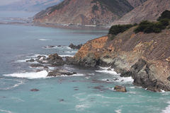 Pacific coast - California. Rugged California Coast - Pacific Ocean Royalty Free Stock Image