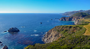 Pacific coast, California. Beautiful coast in Big Sur, California Royalty Free Stock Images