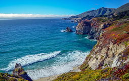 Pacific coast, California Royalty Free Stock Photography