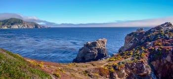 Pacific coast, California. Beautiful coast in Big Sur, California Stock Images