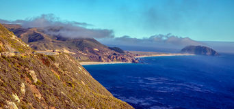 Pacific coast, California. Beautiful coast in Big Sur, California Royalty Free Stock Photography