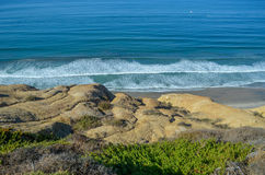 Pacific coast, California. Beautiful view of pacific coast, California Royalty Free Stock Photo