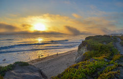 Pacific coast, California. Beautiful view of pacific coast, California Royalty Free Stock Images