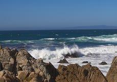 Pacific Coast. California. Royalty Free Stock Image