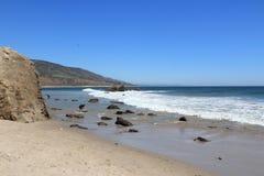 Pacific coast in California Stock Images