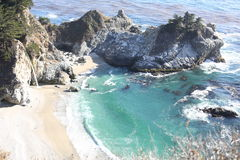 The Pacific Coast in California, USA Royalty Free Stock Images