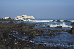 Pacific Coast of Chile royalty free stock photography