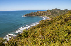 Pacific coast of Costa Rica Royalty Free Stock Photography