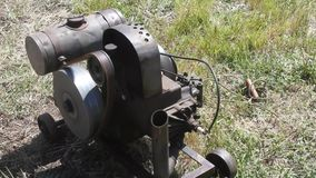 Pacific coast dream machines;  engine at work stock video
