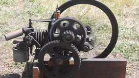 Pacific coast dream machines;  engine at work stock footage