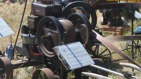 Pacific coast dream machines; steam engine at work stock footage