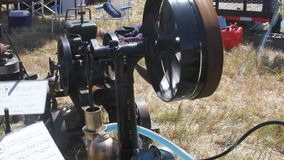 Pacific coast dream machines;water pump at work stock footage