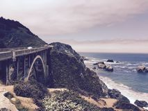 Pacific Coast Highway Royalty Free Stock Images