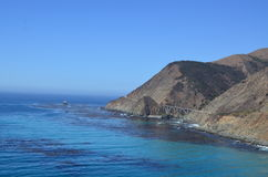 Pacific Coast Highway, California Stock Images