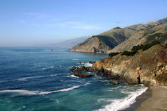 Pacific Coast, Highway 101 Hills Royalty Free Stock Image
