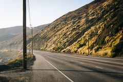 Pacific Coast Highway, in Malibu, California. Pacific Coast Highway, in Malibu, California Royalty Free Stock Photos