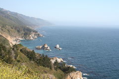 Pacific Coast Highway - Oregon overlook Royalty Free Stock Photos