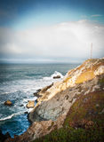 Pacific Coast Highway view Stock Image