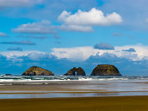 Pacific Coast landscape Tillamook County Oregon US Stock Images