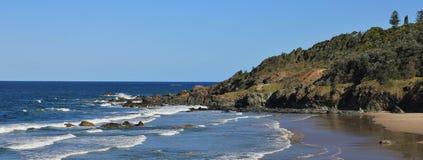 Pacific coast in Port Macquarie Stock Images