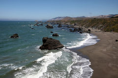 Pacific Coast, Sonoma County, California Royalty Free Stock Photos
