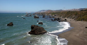 Pacific Coast, Sonoma County, California Stock Photo