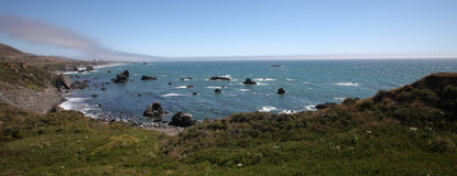 Pacific Coast, Sonoma County, California Royalty Free Stock Photography