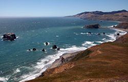 Pacific Coast, Sonoma County, California Stock Image