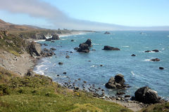 Pacific Coast, Sonoma County, California Royalty Free Stock Photo