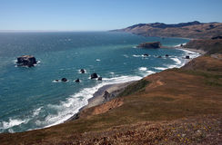 Pacific Coast, Sonoma County, California Stock Photography