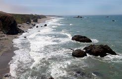 Pacific Coast, Sonoma County, California Stock Photos