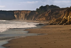 Pacific Coast south of San Francisco Royalty Free Stock Photography