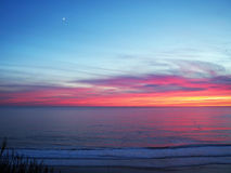 Pacific Coast Sunset Royalty Free Stock Photography