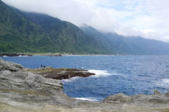 The Pacific coast Stock Photo